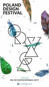 Poland Design Festival plakat