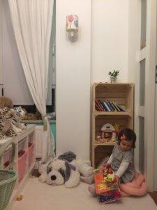 pokój dziewczynki Home stagerka