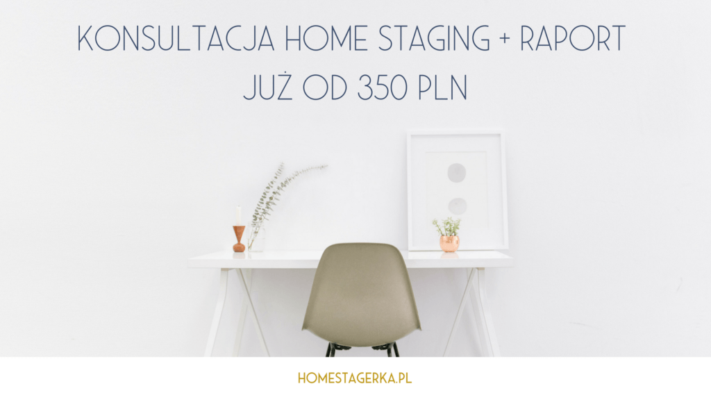 konsultacja home staging cena homestagerka