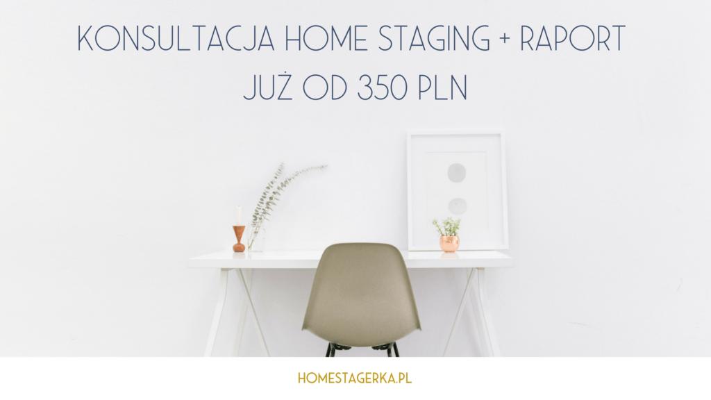konsultacja home staging cena homestagerka